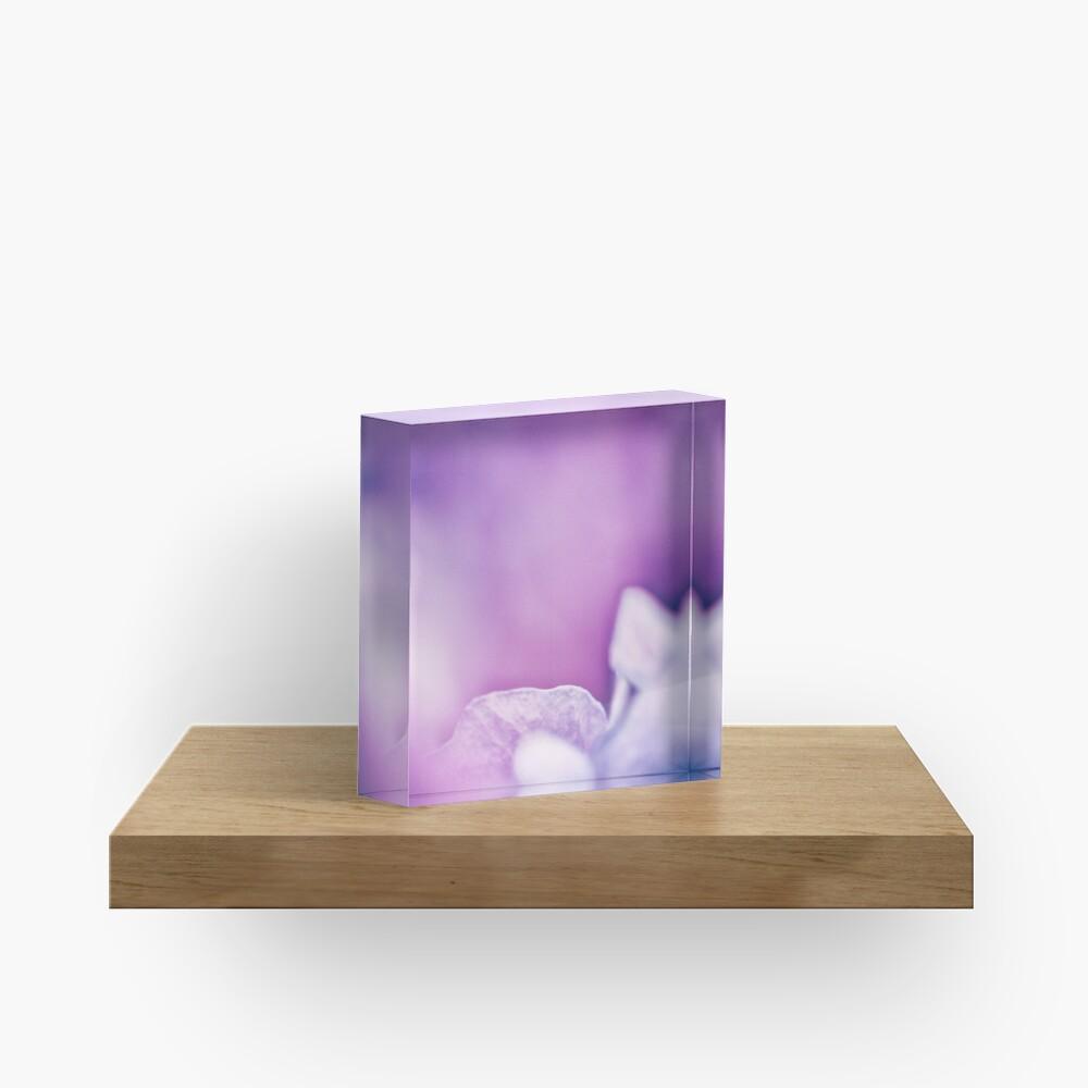 Flower Mystical Acrylic Block