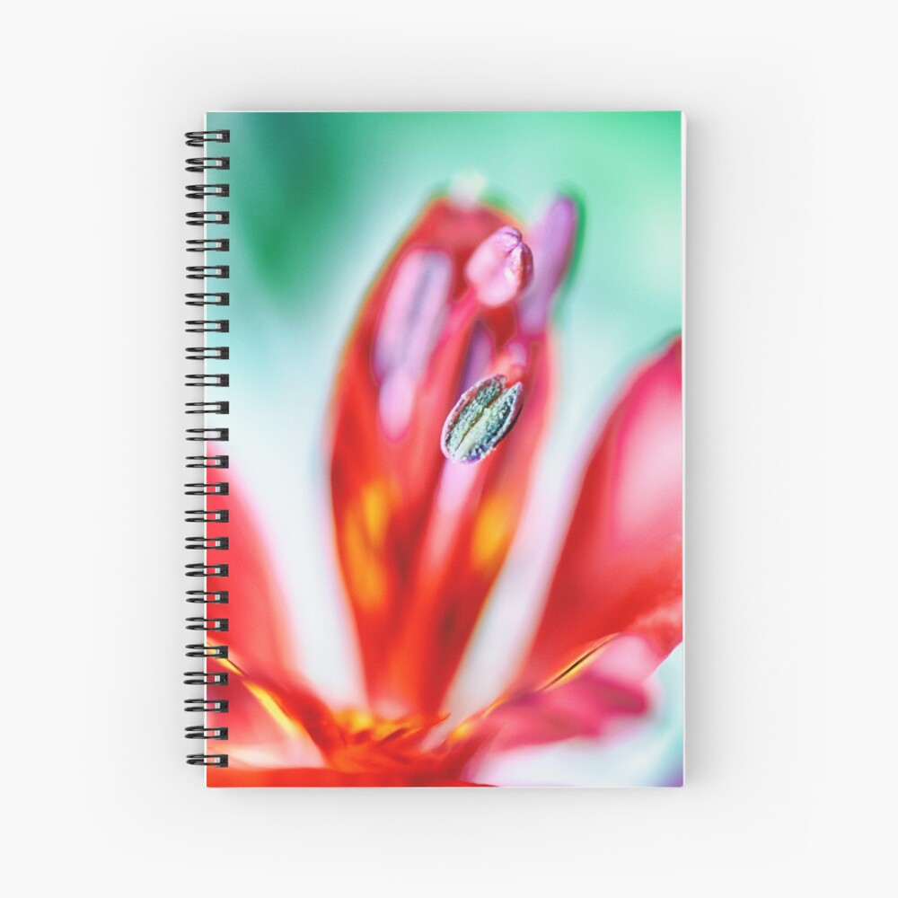 Flower Mystical  Spiral Notebook