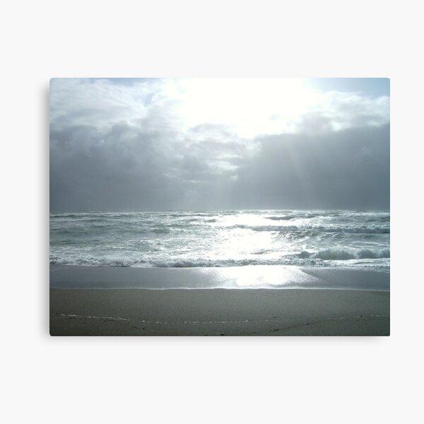 ocean series I  Dazzled Canvas Print