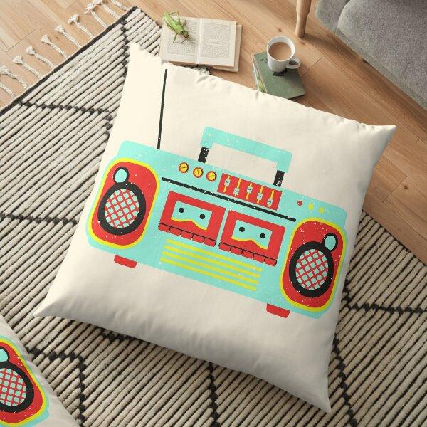 retro stereo/ 80s Retro Stereo System/ Fashion/ Hi Fi Music Cassette/  80s Clothing | 80s Shirt | 80s Gift | Stereo Shirt | Old School Stereo Shirt | Retrowave Shirt | Hipster Shirt Floor Pillow