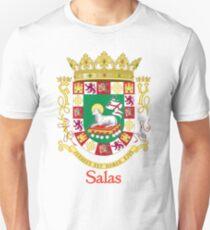 Salas Shield of Puerto Rico T-Shirt