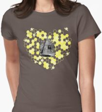 French Beehive Ladies Vintage Style T-Shirt by HNTM T-Shirt