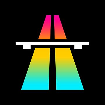 Rainbow Roadsign by JASONCRYER