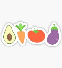 Mixed Vegetables Sticker