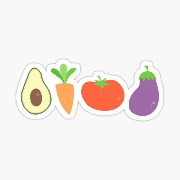 Mixed Vegetables Sticker