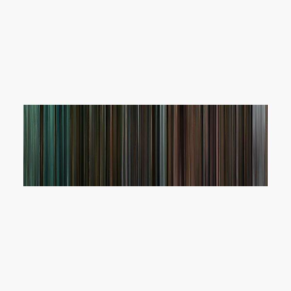 Moviebarcode: The complete Twilight Saga (2008-2012) Photographic Print
