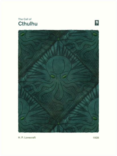 The Call of Cthulhu - H. P. Lovecraft by RedHillPrints