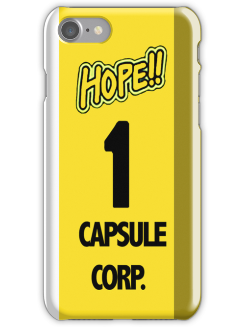 """Capsule Corp Time Machine Phone Case"" IPhone Cases"