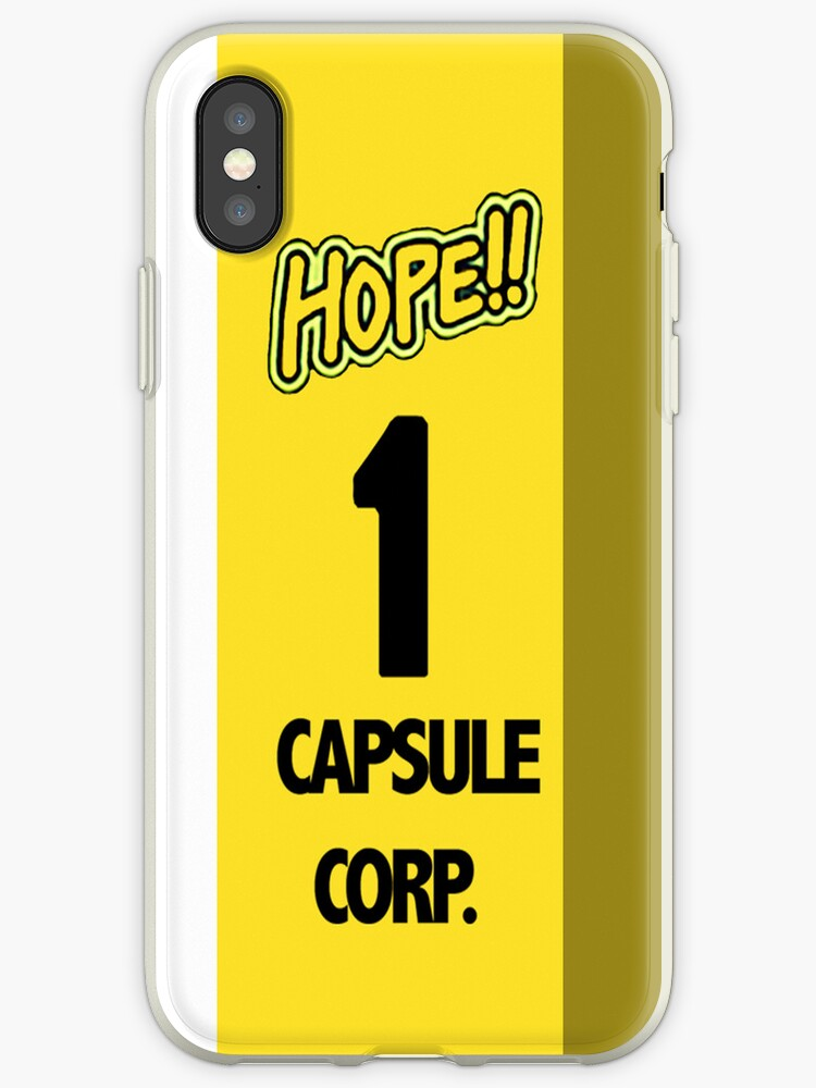 'Capsule Corp Time Machine Phone Case' iPhone Case by CassieCody