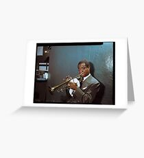 Louis Armstrong, 1946 Greeting Card