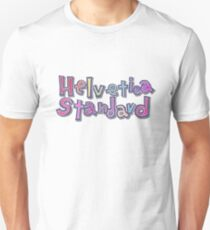 "Camiseta ajustada Nichijou ""Helvetica estándar"""