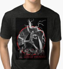 Tesla God Of Thunder Tri-blend T-Shirt