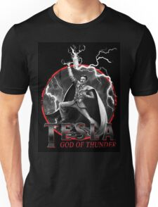 Tesla God Of Thunder Unisex T-Shirt