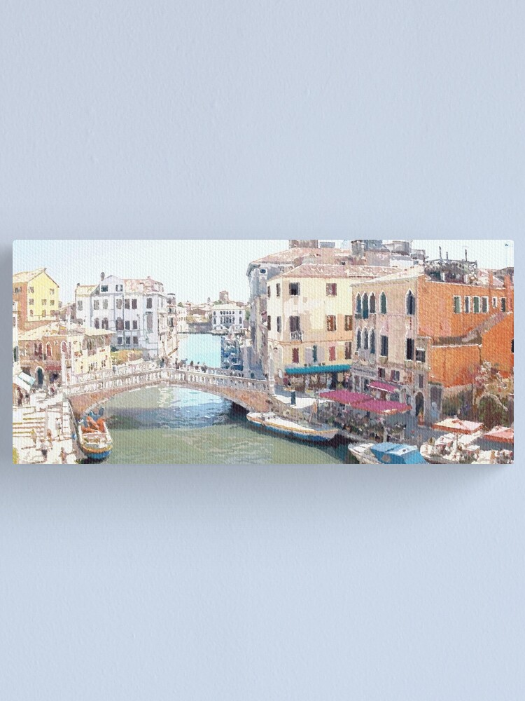 Alternate view of Somewhere In Venice Canvas Print