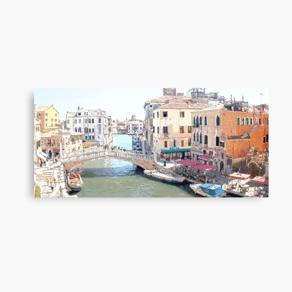 Somewhere In Venice Canvas Print