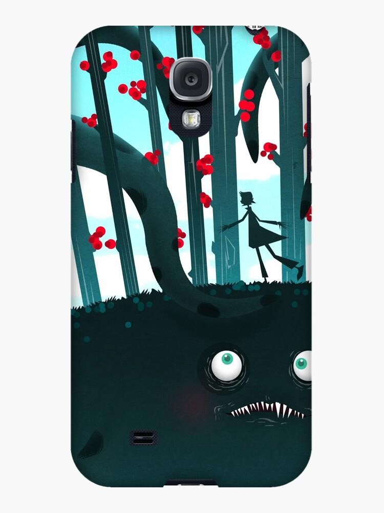 Tentacular monster by gigaillustrator