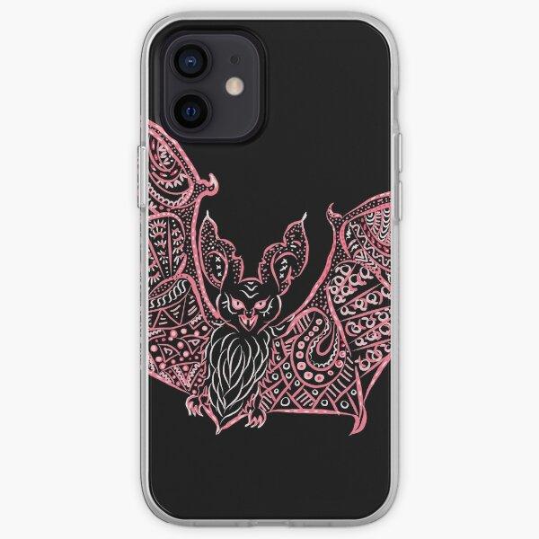 Bat Bats Batter abstract art iPhone Soft Case