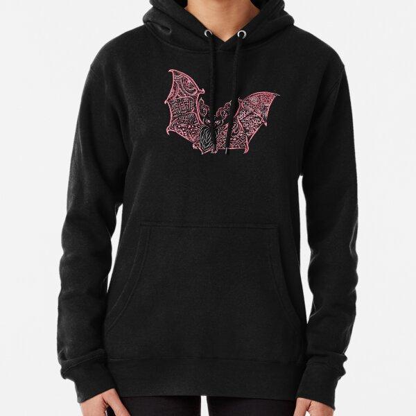 Bat Bats Batter abstract art Pullover Hoodie