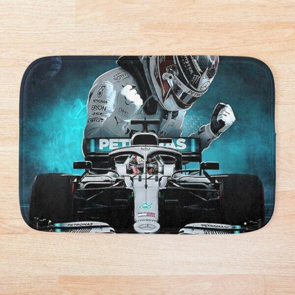 Lewis Hamilton Formula 1  Bath Mat