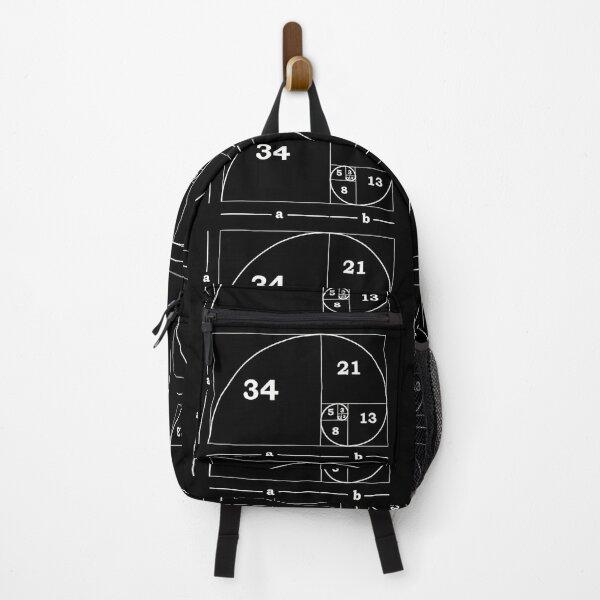 #Golden #Ratio #GoldenRatio #Design Ideas Fibonacci Spiral = 1.6180339887498948420 Backpack