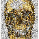 Skull Coins Mosaic by finalscore