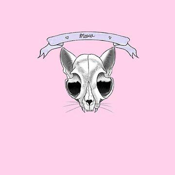 Cat Skull  ~ by AutumnRay