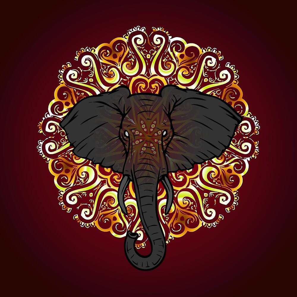 Awesome Indian Looking Elephant by ELARTIST