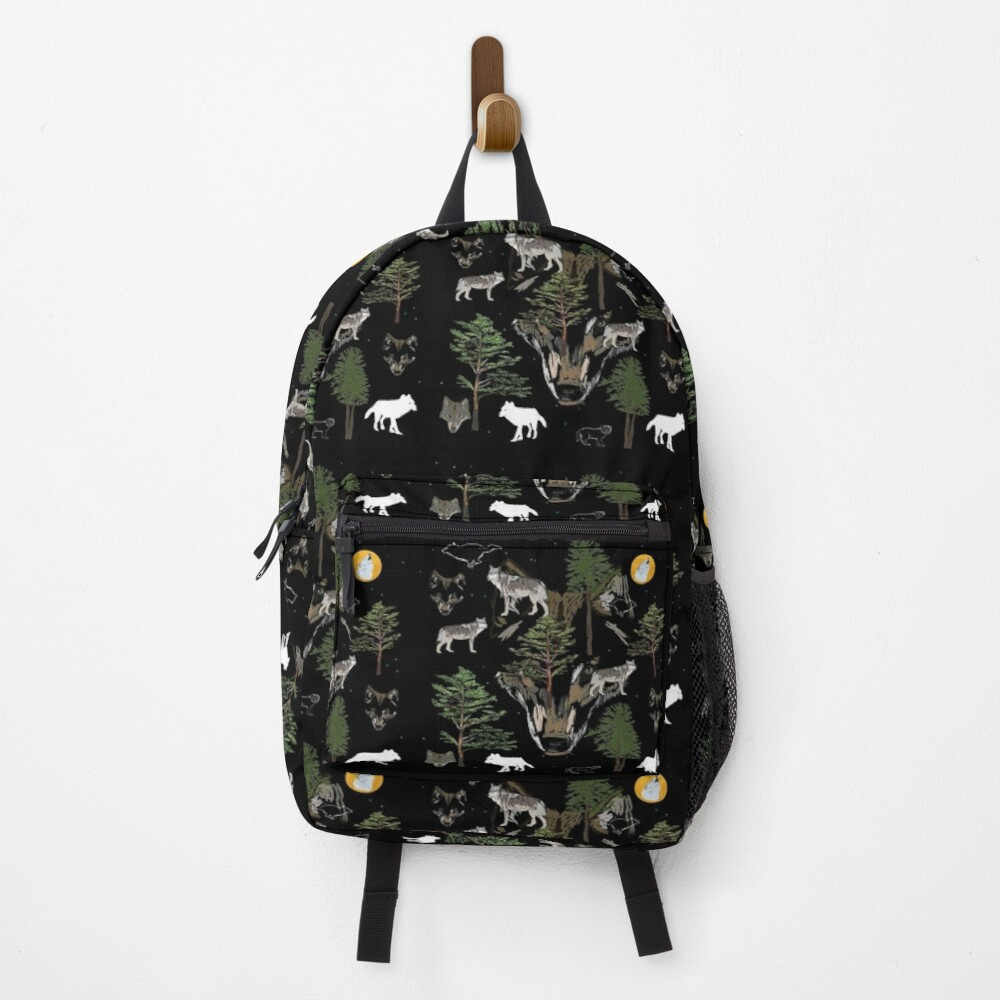 Wolves  Backpack