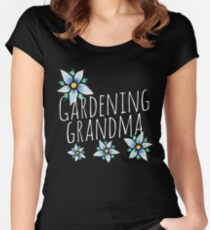 Gardening Grandma Women's Fitted Scoop T-Shirt