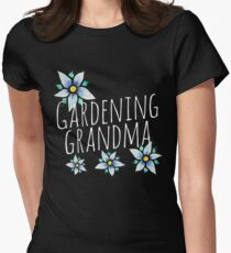 Gardening Grandma Women's Fitted T-Shirt