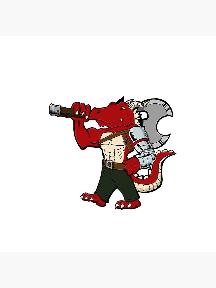 Badaar the Dragonborn by Icarus-Games