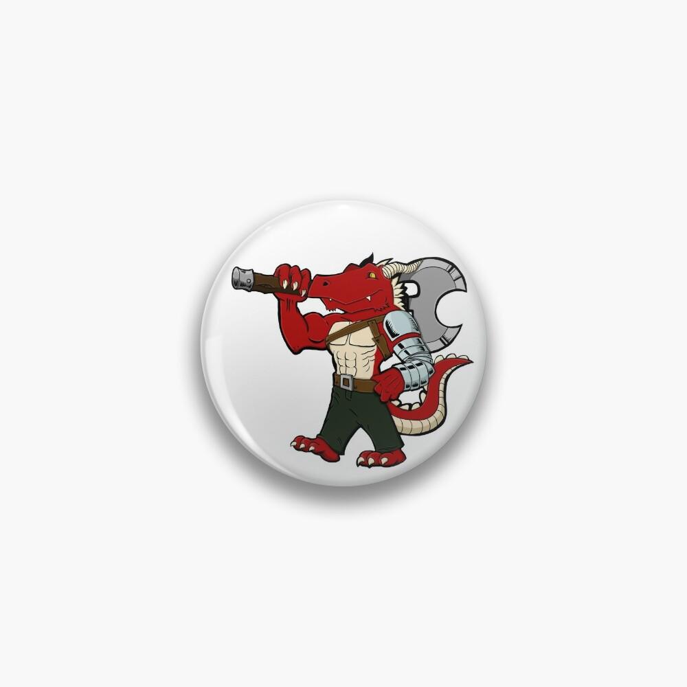 Badaar the Dragonborn Pin
