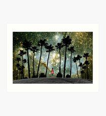 Paradise Galaxy Dream Kunstdruck