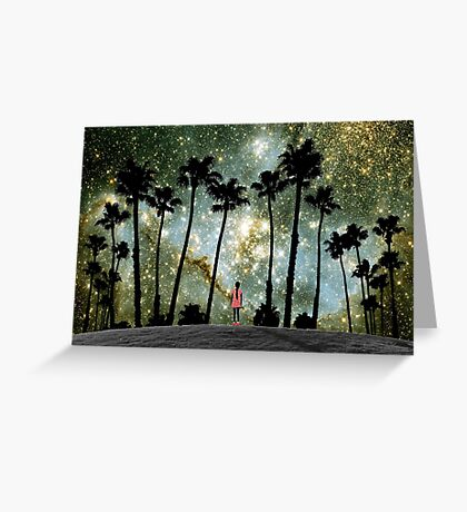 Paradise Galaxy Dream Greeting Card