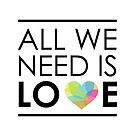 ALL WE NEED IS LOVE -2 by volkandalyan