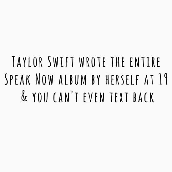 Taylor Swift Speak Now by audriad13