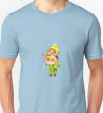 Legend of Zelda Wind Waker: Link and Tetra T-Shirt