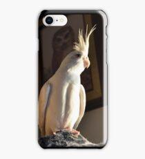Albino Cockatiel iPhone Case/Skin