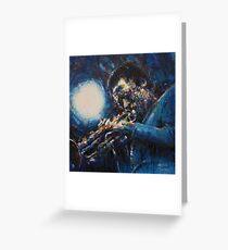 Miles Davis II Greeting Card