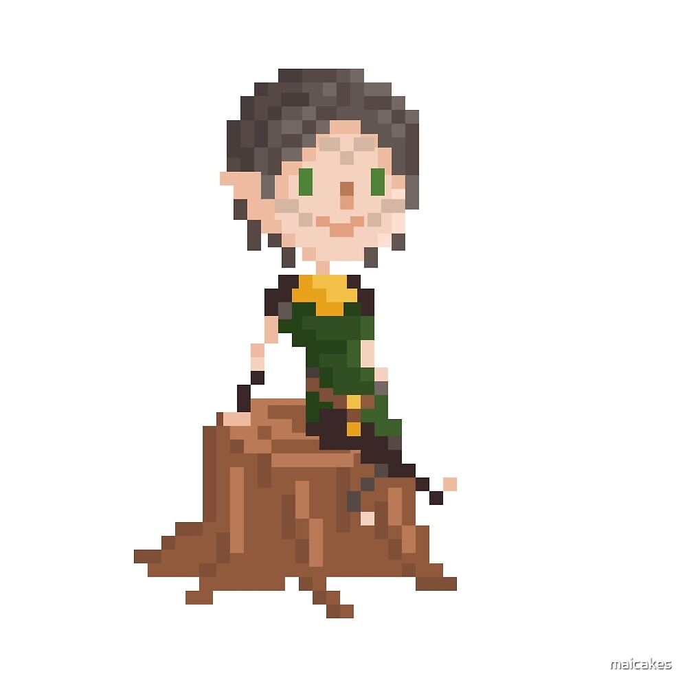 Pixel Merrill v2 - Dragon Age by maicakes