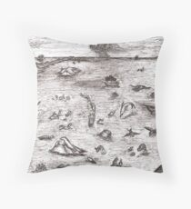 Ancient mariners Throw Pillow