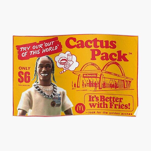 Cactus jack McDonald's Poster Poster