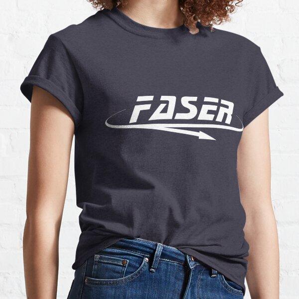 Faser Experiment Logo Big White Classic T-Shirt