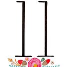 Number 11  - Ink & Watercolour Flowers by BbArtworx