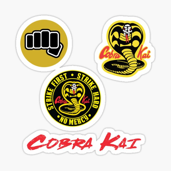 Cobra Kai Pack Sticker