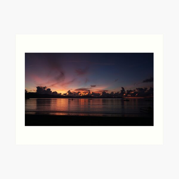 A Peaceful Calm Over the Bay Art Print