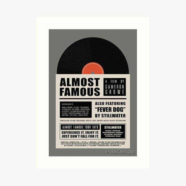 Almost Famous film - imarotul Art Print