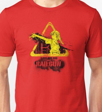 1,000,000,000 Volt Railgun Unisex T-Shirt