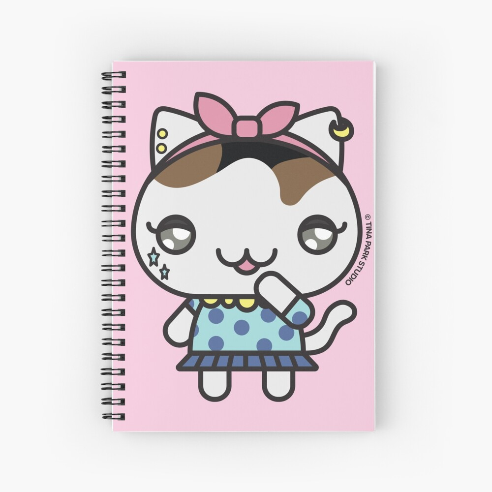 Chainsaw the Cat Spiral Notebook