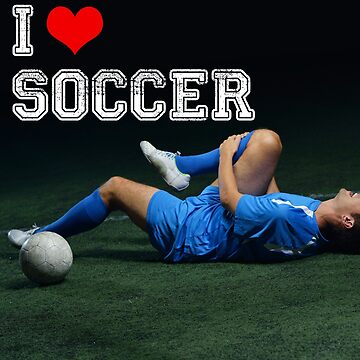 I Heart Soccer - Mockingly. Annoy your Soccer Friends by OMGIWantIt
